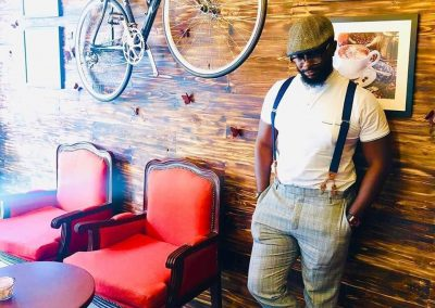 @remy.cruise simply looks dope @myyas_cafe ?? You too can express your style at @myyas_cafe